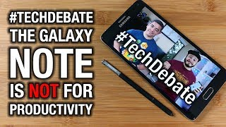 Is the Galaxy Note 8 a productivity phone or not? Or any Note, for that matter. Welcome to a proper debate on this topic, where ...