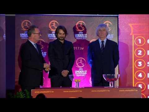 Ceremonija ždrijeba UEFA U-17 Europskog prvenstva