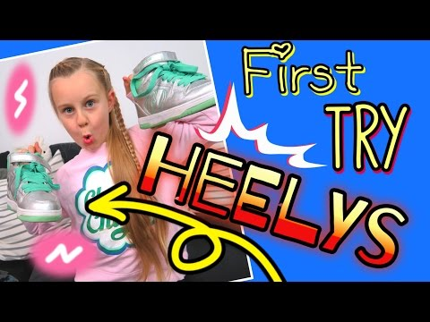 Vlog💗HEELYS💗meine ersten Versuche㋡ coole Mädchen Zöpfe&Frisuren