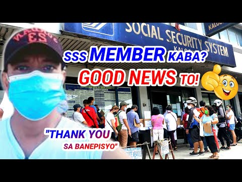 GOOD NEWS! ATTENTION SA LAHAT NG SSS MEMBERS & PENSIONERS, EXTENDED NG 3MONTHS PAYMENT & NO INTEREST
