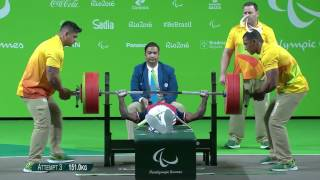 Ardon France  city images : Powerlifting | ARDON Patrick | Men's -49kg | Rio 2016 Paralympic Games