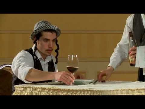 (the twins from france) tasting wine