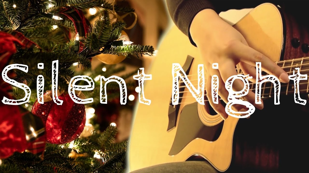 Silent Night | Fingerstyle Acoustic Guitar | Christmas Songs on Guitar  | Taylor 314ce
