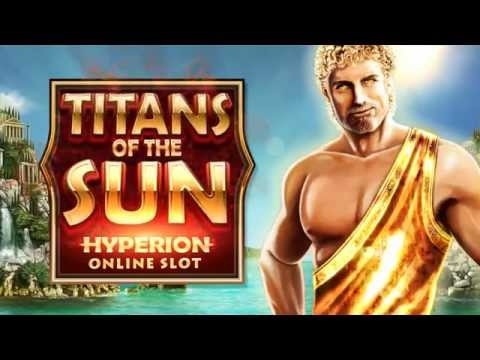 Titans of the Sun Hyperion online slot game [Wild Jackpots]