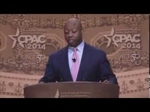 tim - The Honorable Tim Scott, United States Senator for South Carolina, speaking at CPAC 2014 on March 6, 2014. Recorded at the Conservative Political Action Conf...