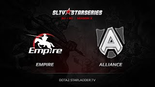 Alliance vs Empire, game 1