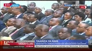President Uhuru assures Kenya of a Transparent, Equitable and Transformed country