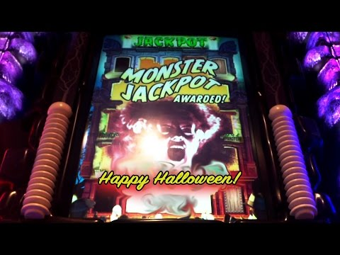 MONSTER JACKPOTS SLOT - Monster Jackpot Awarded! - NICE WIN - Slot Machine Bonus