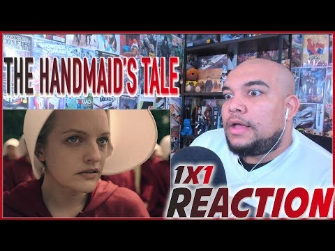 """The Handmaid's Tale Reaction Season 1 Episode 1 """"Offred"""" 1x1 REACTION!!!"""