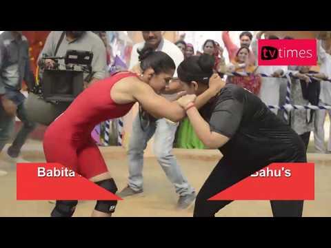 Badho Bahu Vs Babita Phogat | Rytasha Rathore to Wrestle Phogat