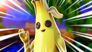 I Became The Deadliest Banana Skin In Fortnite... (peely is OP)