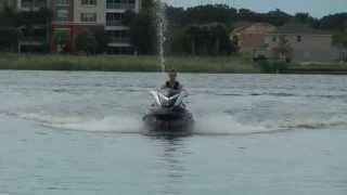 6. 2007 Yamaha FX HO jetski on lake