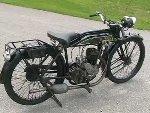 1927 New Imperial Vintage Motorcycle Test Drive