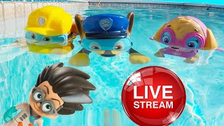 Video Ellie Sparkles TV ⭐ Summer Pool Challenge Fun with Paw Patrol - Jail Rescue, Slime Challenges MP3, 3GP, MP4, WEBM, AVI, FLV Juli 2018