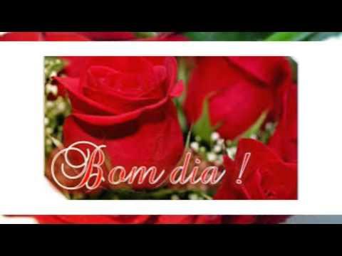 Imagens bom dia - LINDO VIDEO DE BOM DIA-com rosas