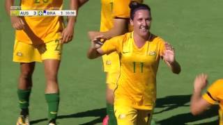 Video Australia vs. Brazil: Highlights - Aug. 3, 2017 MP3, 3GP, MP4, WEBM, AVI, FLV Januari 2019