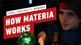 How Materia Works in Final Fantasy 7 Remake by IGN