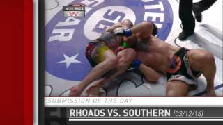 Submission of the Day: Nick Rhoads chokes out Kurt Southern at Prestige Fight Club 2 by Fight Network