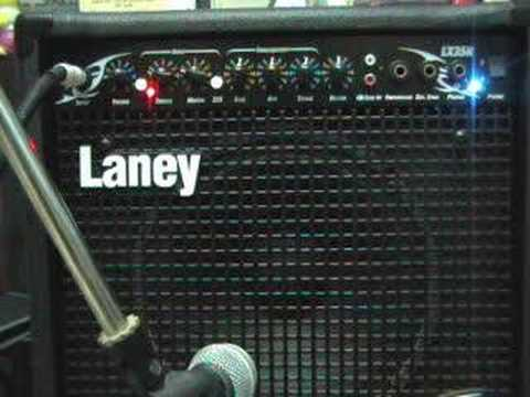 CHATREEO TEST LANEY LX35R AMP