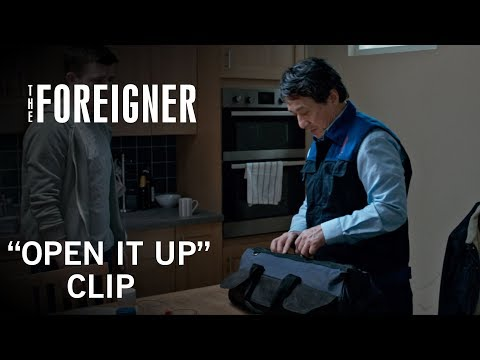 The Foreigner (Clip 'Open It Up')