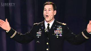 Video Major Jeff Struecker - Liberty University Convocation MP3, 3GP, MP4, WEBM, AVI, FLV September 2019