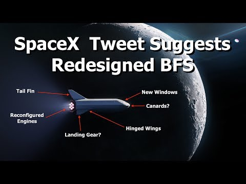 SpaceX Have Redesigned The BFS & Found a Passenger._Best spacecraft videos of the week