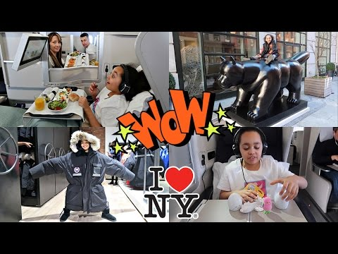 Video Toys AndMe | Journey To NewYork City - Surprise Toy Opening on Airplane - Time to Shopping download in MP3, 3GP, MP4, WEBM, AVI, FLV January 2017
