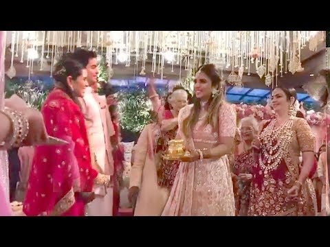 LIVE Inside Video Of Mukesh Ambani's Son Akash Ambani's WEDDING Ceremony With Shloka Mehta