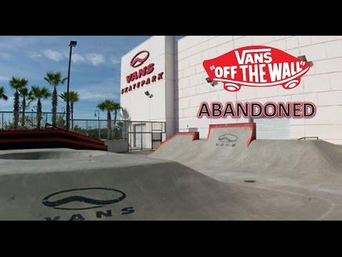 SNEAKING INTO THE ABANDONED VANS SKATEPARK ORLANDO | Skating International Drive 2 | Vlog 5