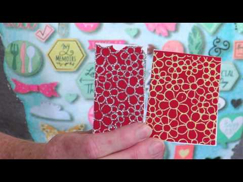 Sizzix Quick Tips: How to use Inksheets with Thinlits