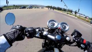 6. 2016 Triumph Thruxton S * All About the Green * 1st Ride & Review