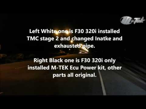 Bmw f30 320i power kit снимок