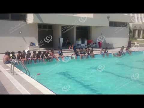 دورات تدريبية في السباحة لأطفال طبرق