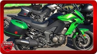 6. 2016 Kawasaki Versys 1000 LT Motorcycle Review