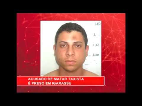 [RONDA GERAL] Acusado de matar taxista é preso em Igarassu
