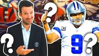 Tony Romo Would Be a PERFECT Fit to Coach ANY of these 10 NFL Teams by Total Pro Sports