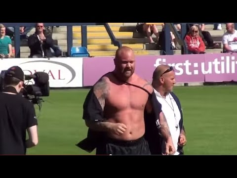 The Mountain from 'Game of Thrones' becomes Europe's strongest man.