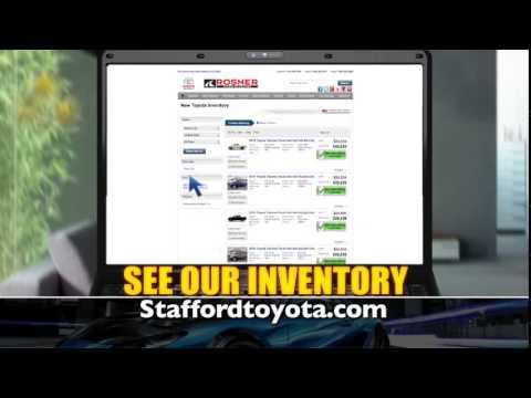Shop Online in Stafford, VA at Rosner Toyota of Stafford