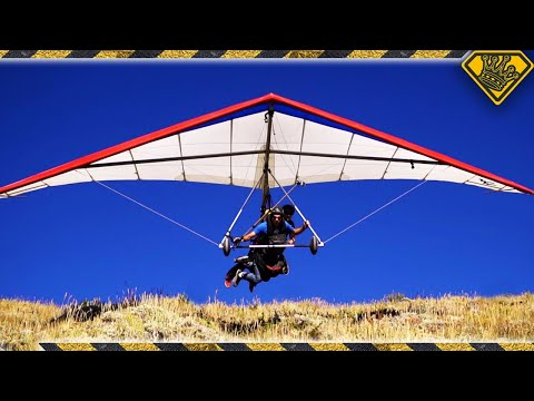 Rappelling, MMA Fighting and Hang Gliding.  'Nuff Said (видео)
