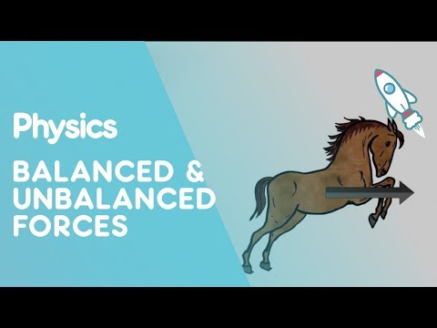 Forces - How do we find out whether the forces acting on an object are balanced or unbalanced? Learn in this video from the