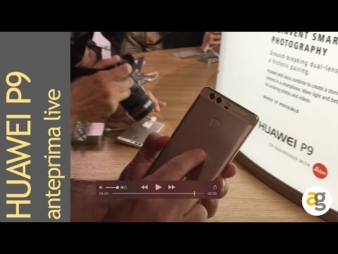 Huawei P9 live da Londra