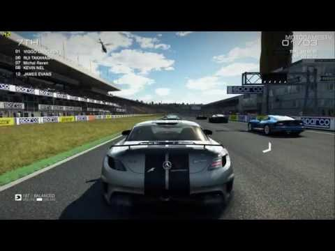 GRID Autosport PC - Mercedes SLS AMG Black Series Gameplay