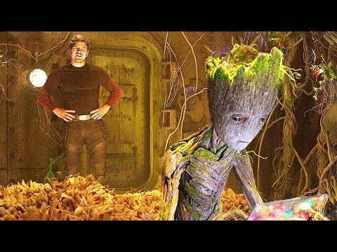 GUARDIANS OF THE GALAXY 2 Teen Groot NEW Deleted Scene ✩ Marvel Movie HD (Movie HD)