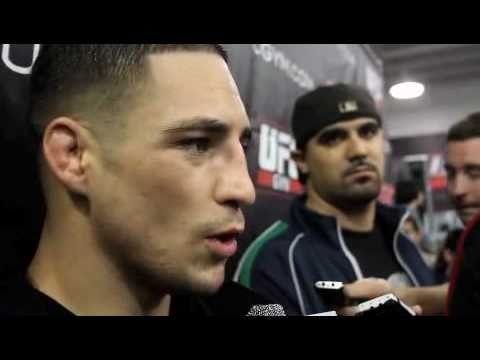 Diego Sanchez talks Paulo Thiago Wrestling Wins Fights UFC 121