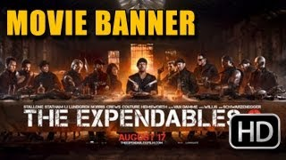 The Expendables 2 Banner (2012)