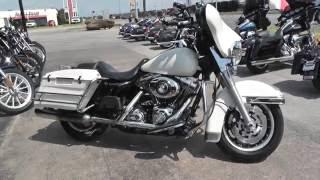 9. 654497 - 2008 Harley Davidson Electra Glide Police FLHTP - Used motorcycles for sale