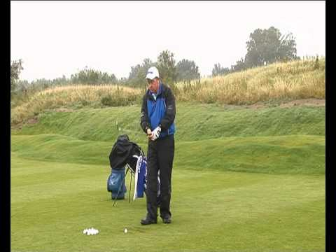 Golf Wind and Rain Lessons 19 – Drills – 1 Club Range Practice