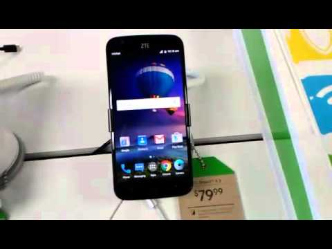 ZTE Grand X3 Cricket Wireless Only $79! (видео)