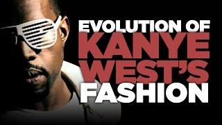 Evolution of Kanye West's Fashion