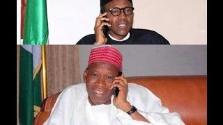 Phone call: Buhari speaks with Ganduje